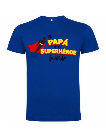 "Camiseta ""Mi Superhéroe Favorito"""